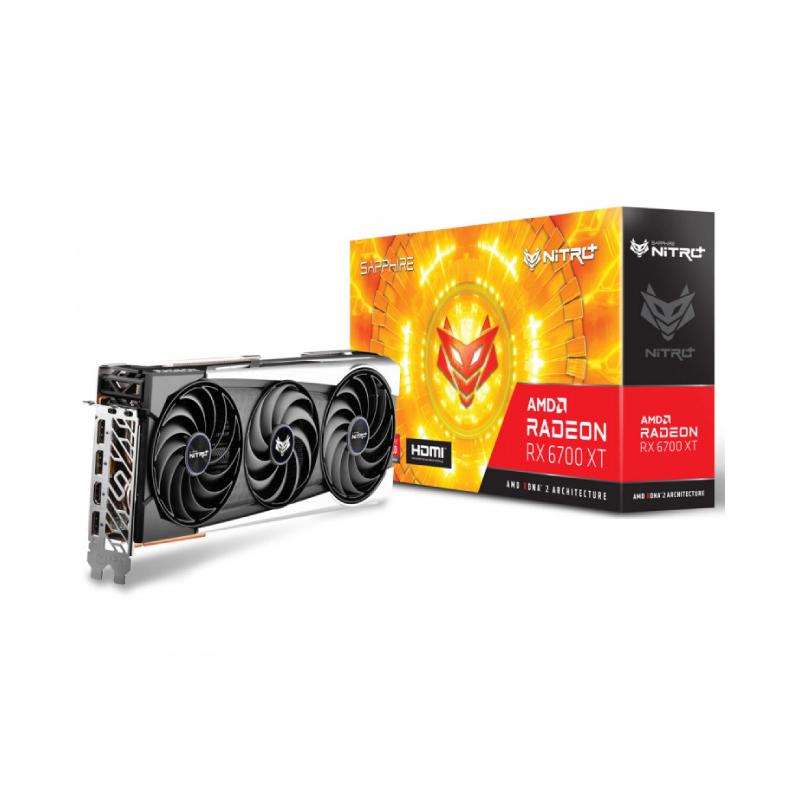 การ์ดจอ Sapphire Nitro Radeon RX 6700 XT 12GB GDDR6 VGA