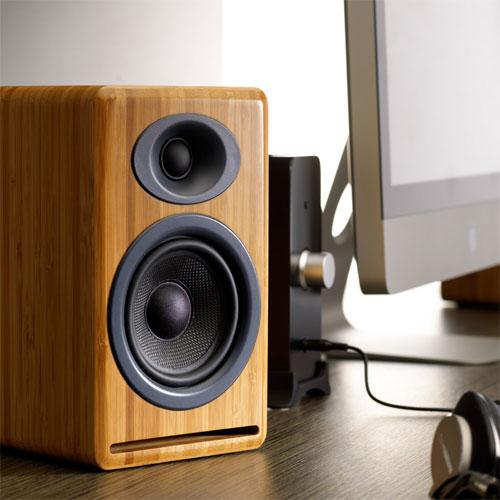 ลำโพง Audioengine P4 Passive Speaker ต่อแอมป์ใช้งานได้ทันที