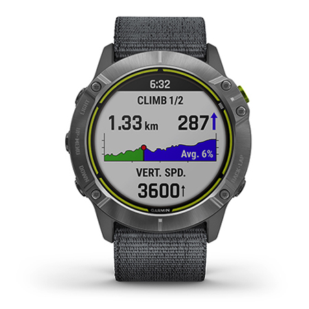 นาฬิกา Garmin Enduro Smart Watch ชาร์จแสงอาทิตย์