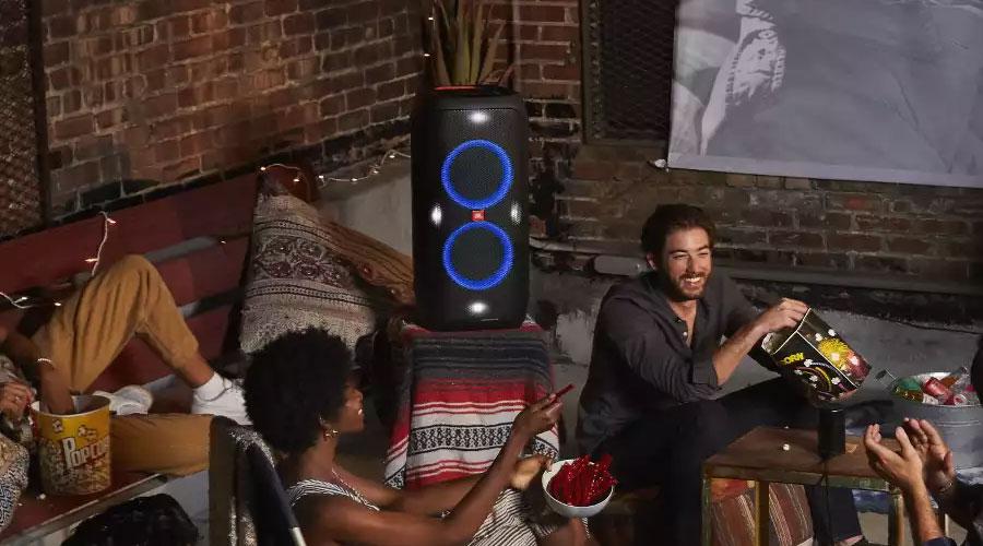 ลำโพงไร้สาย JBL PartyBox 310 Bluetooth Speaker ไฟแสดงผลสุดเท่