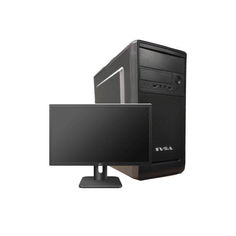 """คอมพิวเตอร์ AMD SVOA Professional AMD Ryzen 3 3200G + จอ SVOA 19.5"""" สินค้ารอประกอบ 5 วัน"""