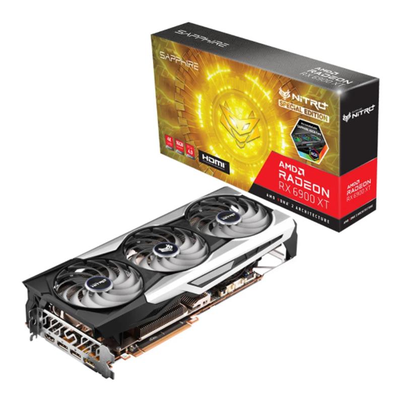 การ์ดจอ Sapphire Nitro+ Radeon RX 6900 XT SE 16GB GDDR6 VGA