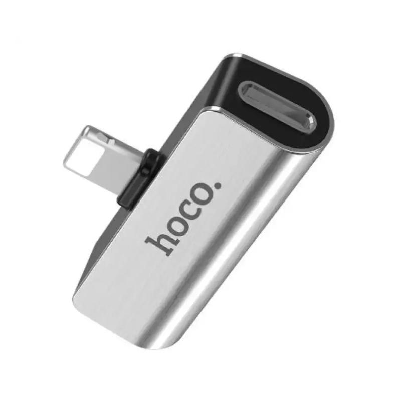 สายชาร์จ Hoco LS25 Lightning Cable with 3.5mm Adapter