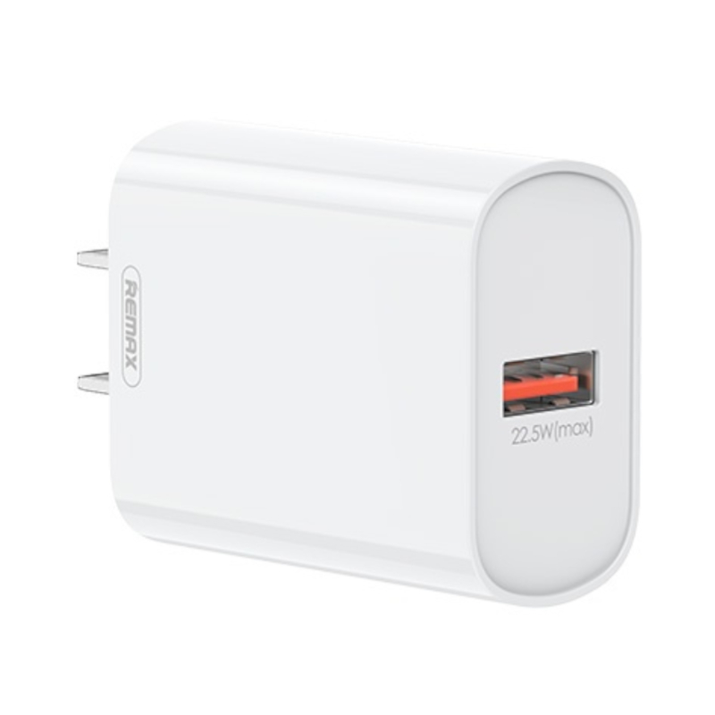 หัวชาร์จ Remax RP-U72 QC 3.0 USB Charger 22.5W