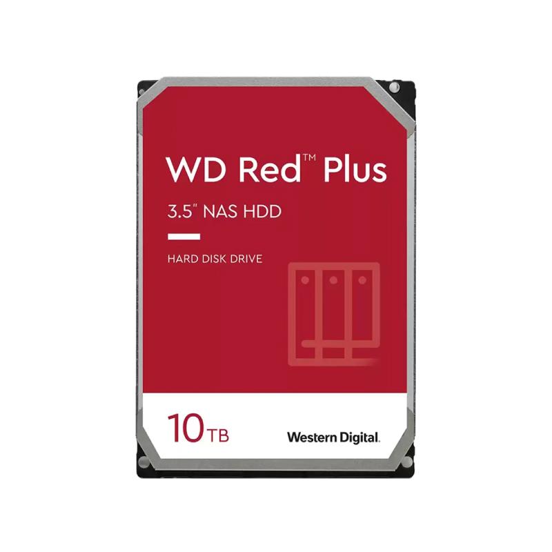 ฮาร์ดดิสก์ WD 10 TB NAS SATA III Red Plus Harddisk (WD101EFBX)