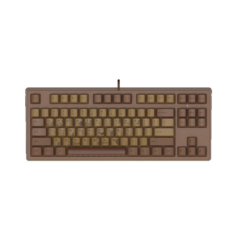 คีย์บอร์ด Ajazz Chocolate 104 Gaming Keyboard