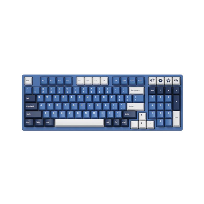 คีย์บอร์ด Akko 3098DS SP Ocean Star Gateron Switch Gaming Keyboard