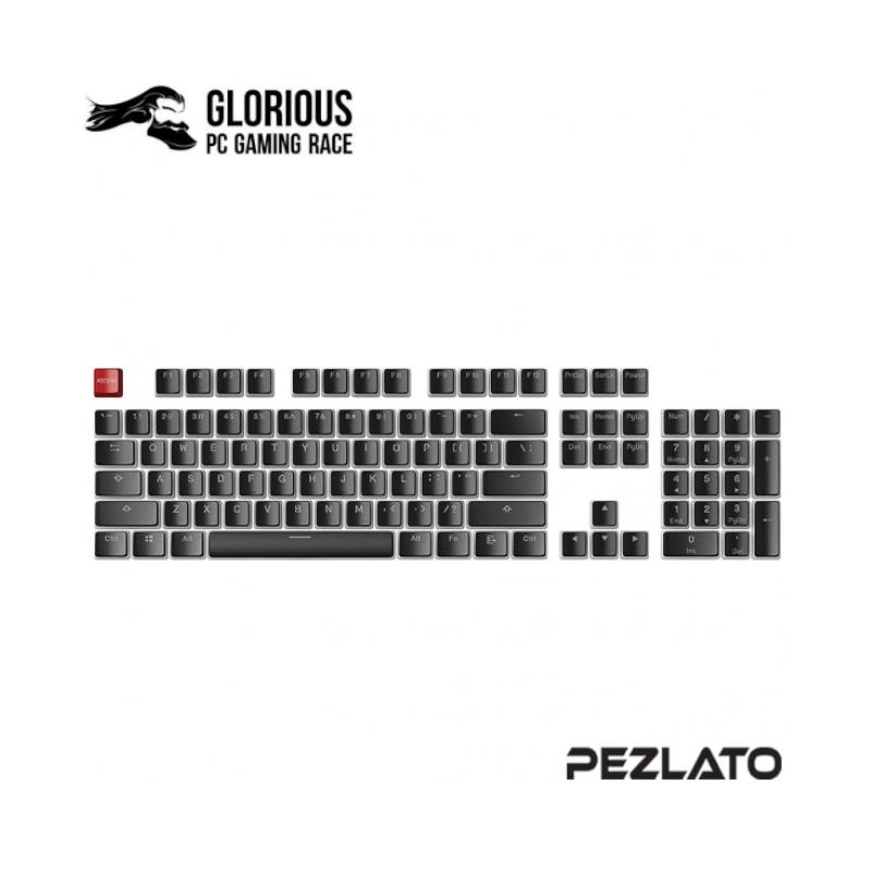 คีย์แคป Glorious ABS 104 Keys Mechanical Keycaps