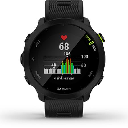 นาฬิกา Garmin Forerunner 55 Sport Watch เซนเซอร์