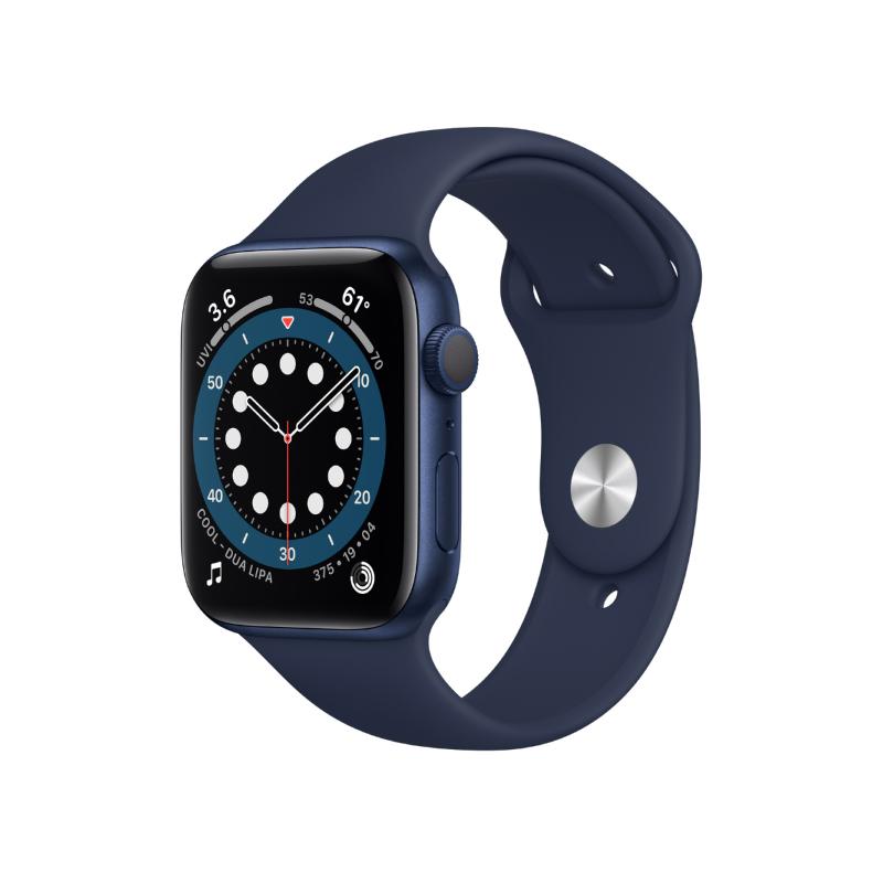 นาฬิกา Apple Watch Series 6 GPS 44mm Blue Aluminium
