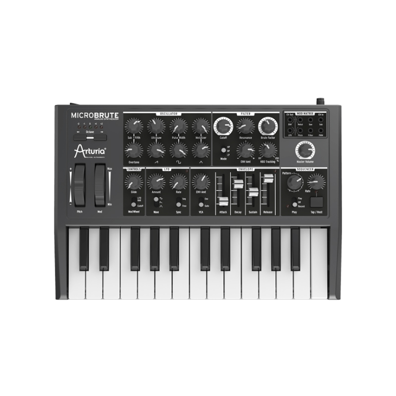 Arturia MicroBrute Hardware Synthesizers