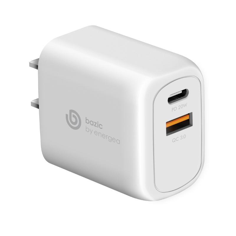หัวชาร์จ Bazic Goport PD20+ 2 USB Wall Charger (US)