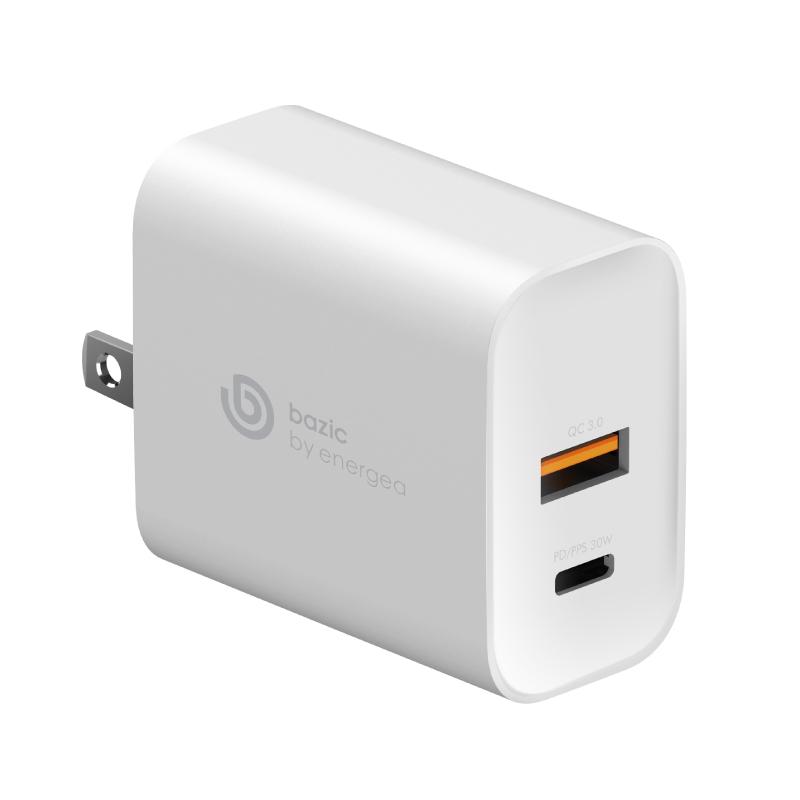 หัวชาร์จ Bazic Goport PD30+ PPS 2 USB Wall Charger (US)