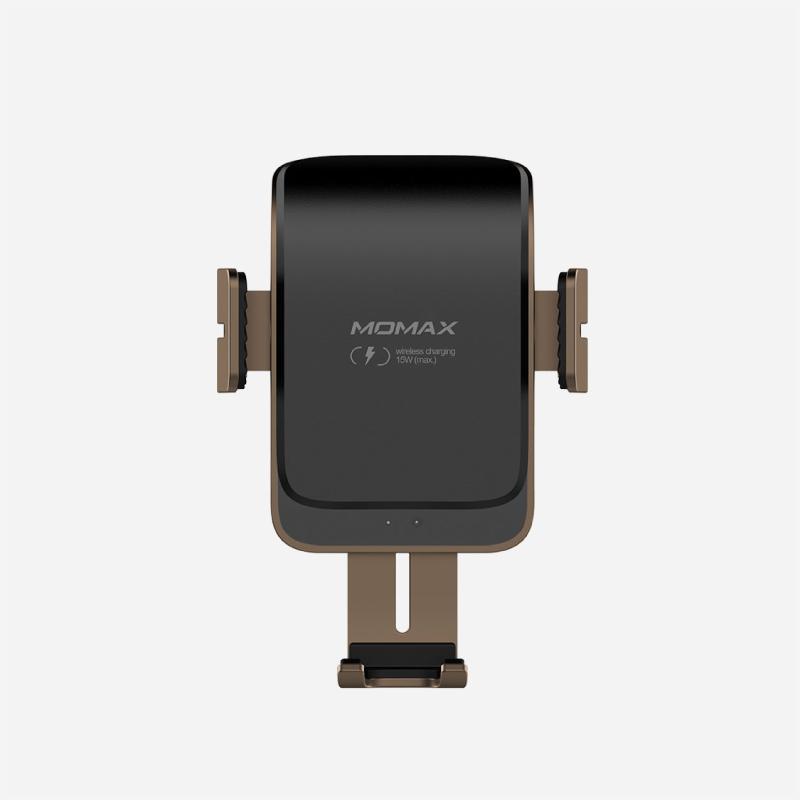 แท่นชาร์จไร้สาย Momax Q.Mount Smart 2 Auto Clamping Wireless Car Charger (15W)