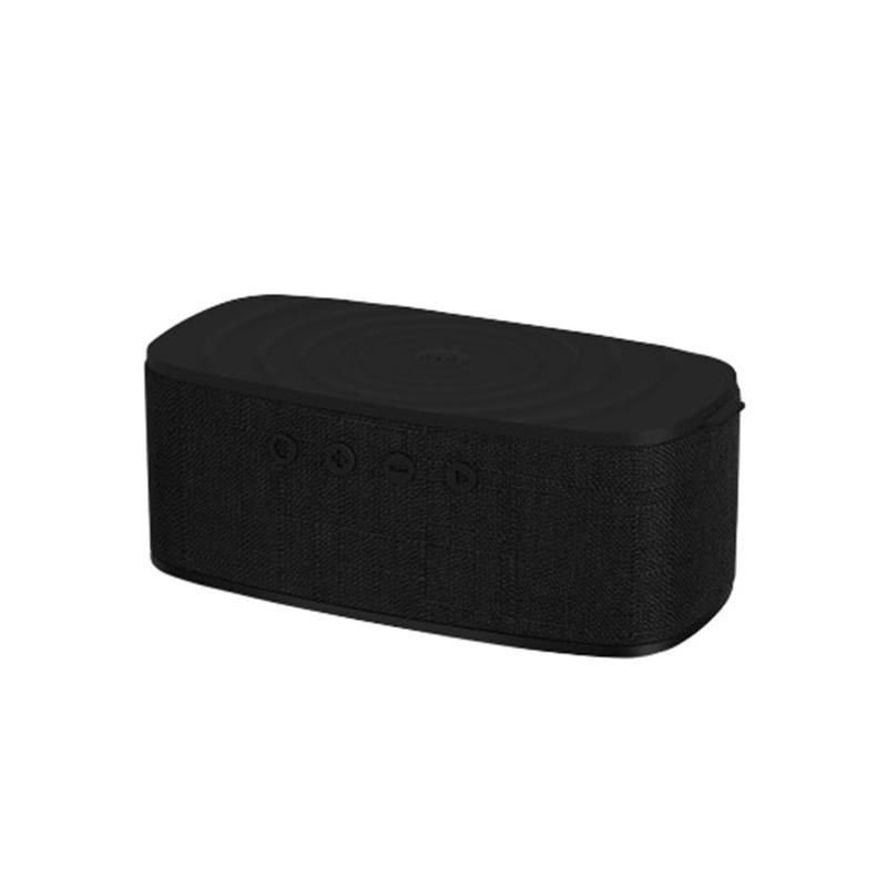 แท่นชาร์จไร้สาย Momax Q.Zonic Wireless Charging Bluetooth Speaker