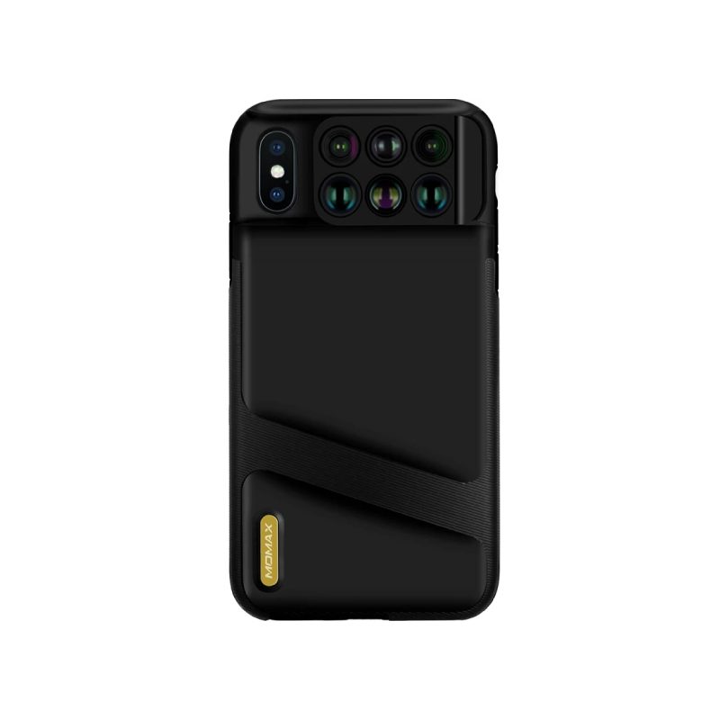 เคส Momax X-Lens Case: iPhone XS Max 6-in-1 Lens Case
