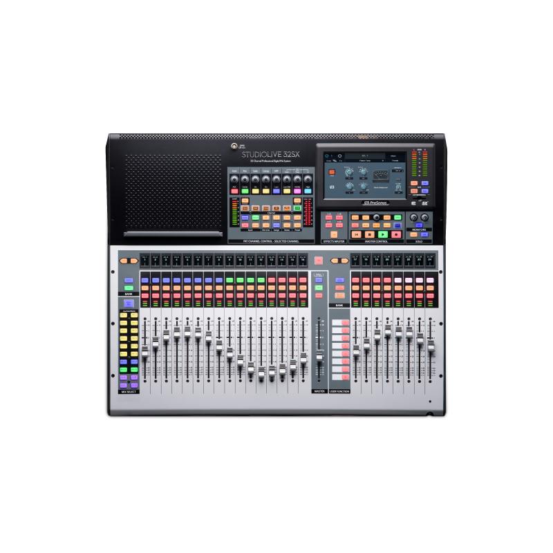 PreSonus STUDIOLIVE 32SX Console Mixer Black