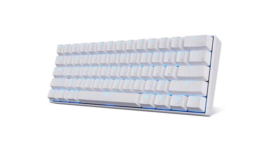 คีย์บอร์ด Royal Kludge RK61 White Wireless Gaming Keyboard รีวิว