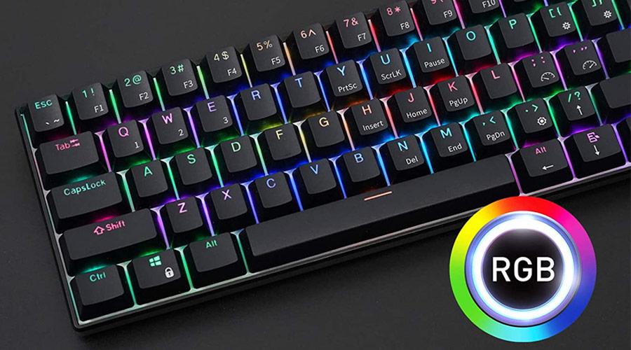 คีย์บอร์ด Royal Kludge RK61 Black Wireless Gaming Keyboard ซื้อ-ขาย