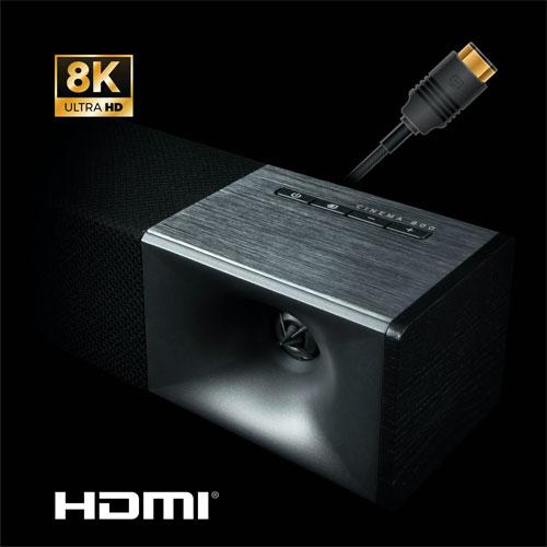 ลำโพง Klipsch Cinema 800 Sound Bar เสียง Dolby Atmos