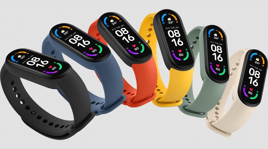 นาฬิกา Xiaomi Mi Band 6 Smart Watch (Global Version) ราคาคุ้มค่า