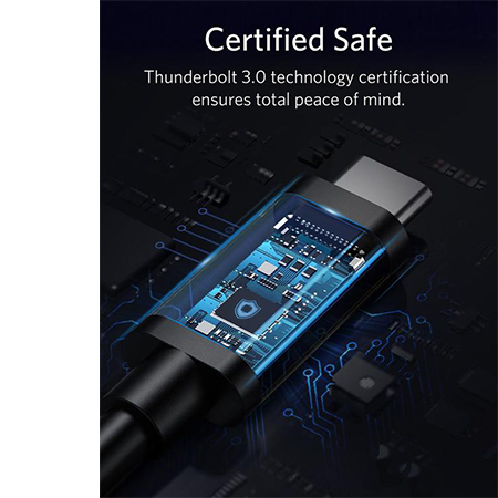 Anker USB-C to USB-C ThunderBolt Cable 50cm ขาย