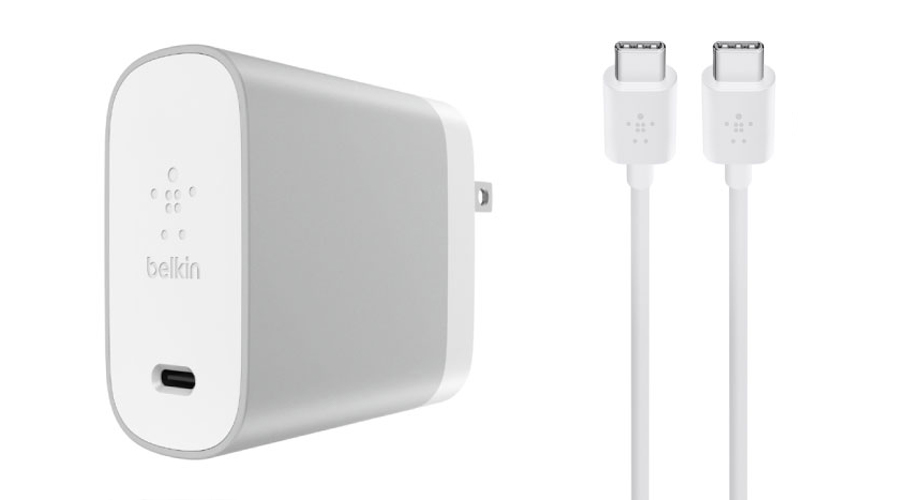 Belkin USB-C 1 Port 45W Wall Charger with Belkin 1.5m Sync and Charge USB-C to USB-C Cable ซื้อที่ไหน