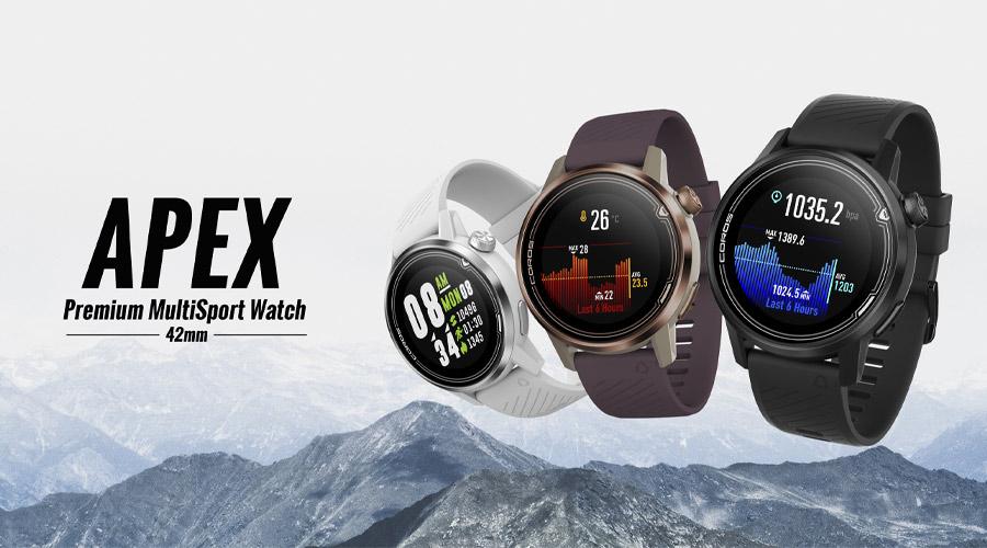 นาฬิกา Coros Apex Premium Multisport GPS Watch 42mm รีวิว