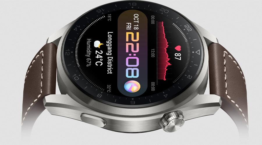 Huawei Watch 3 Pro Classic Smart Watch คุ้มค่า