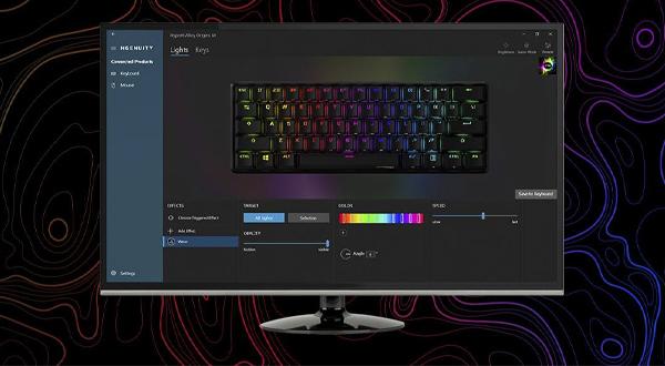 คีย์บอร์ด HyperX Alloy Origin 60 Red Switch Mechanical Keyboard ราคา