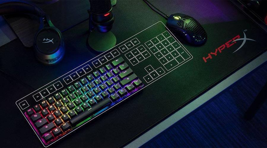 คีย์บอร์ด HyperX Alloy Origin 60 Red Switch Mechanical Keyboard คุ้มค่า