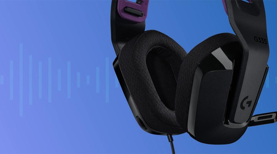 หูฟัง Logitech G335 Gaming Headphone เสียงดี