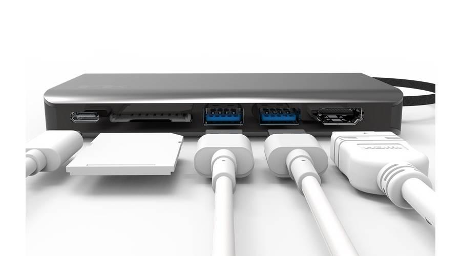อะแดปเตอร์ Feeltek Portable 8 in 1 USB-C Hub ราคา