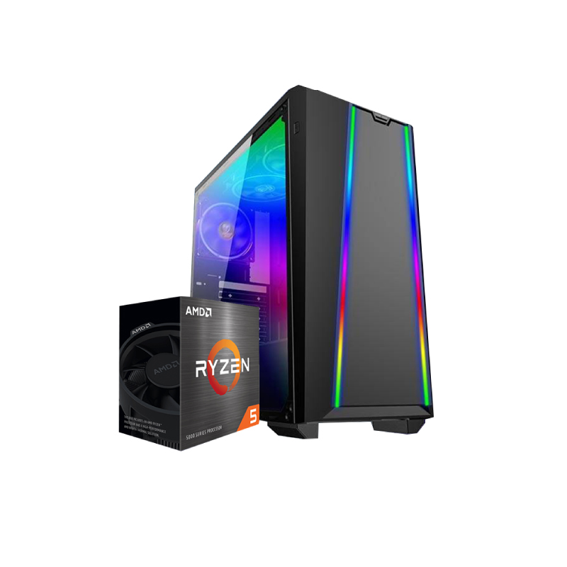 คอมเล่นเกม iHAVECPU Set 7 Ryzen 5 3600 Zotac GTX 1050 Ti OC Ram 8GB Computer by iHAVECPU