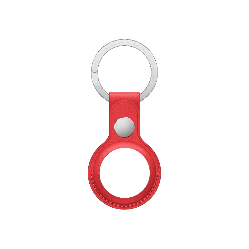 Apple AirTag Leather Key Ring Case