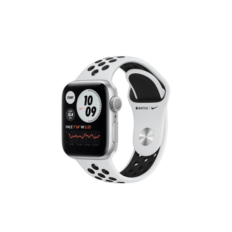 นาฬิกา Apple Watch Nike Series 6 Silver Aluminium Case with Nike Sport Band