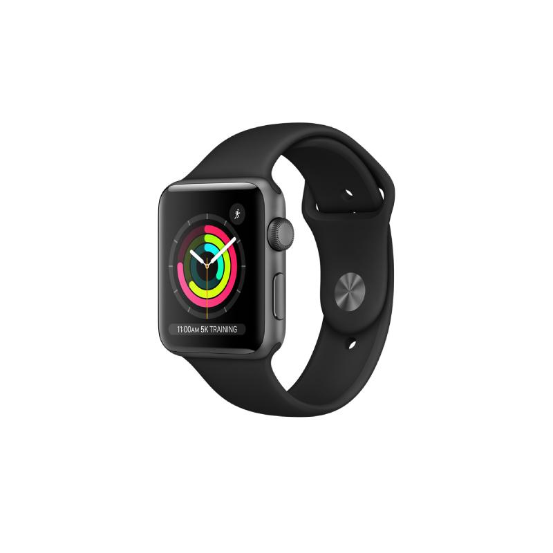 นาฬิกา Apple Watch Series 3 Space Grey Aluminium Case with Sport Band