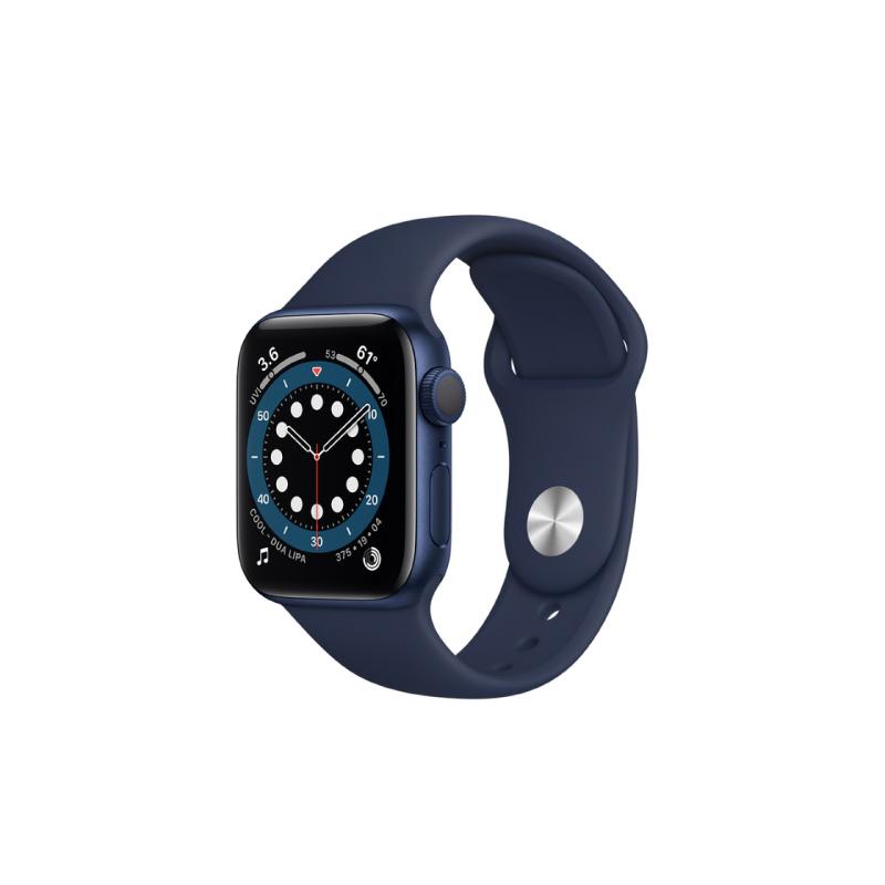 นาฬิกา Apple Watch Series 6 Blue Aluminium Case with Sport Band