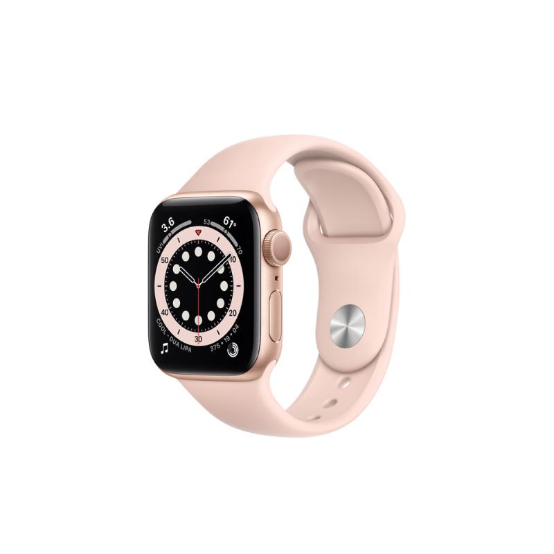 นาฬิกา Apple Watch Series 6 Gold Aluminium Case with Sport Band