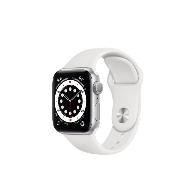 นาฬิกา Apple Watch Series 6 Silver Aluminium Case with Sport Band