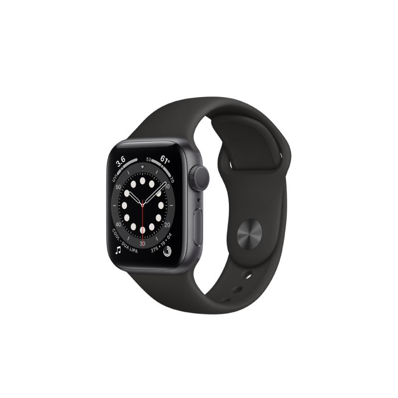 นาฬิกา Apple Watch Series 6 Space Gray Aluminium Case with Sport Band
