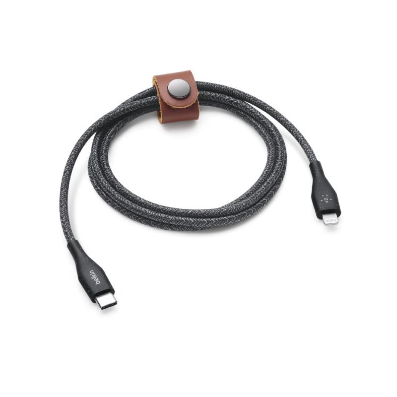 สายชาร์จ Belkin Boost Charge DuraTek USB-C Cable with Lightning Connector 1.2 m