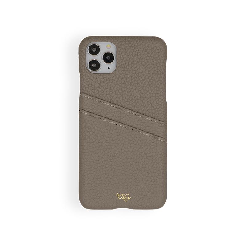 เคส Casetology Genuine Leather Card Holder Case iPhone 11 Pro Max