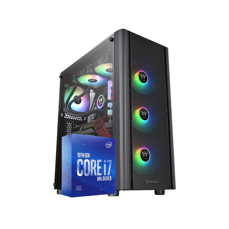 คอมเล่นเกม iHAVECPU Set 24 Intel i7-10700KF GTX 1660 6GB Ram 16GB Computer by iHAVECPU