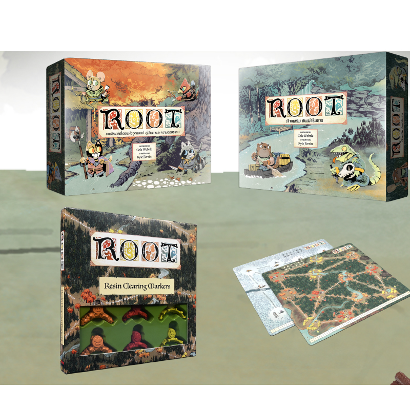 (Pre-order) บอร์ดเกม Root All in Kickstarter Edition Board Game (TH)
