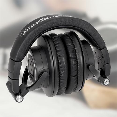 หูฟัง Audio-Technica ATH-M50xBT2 Wireless Headphones พับเก็บได้