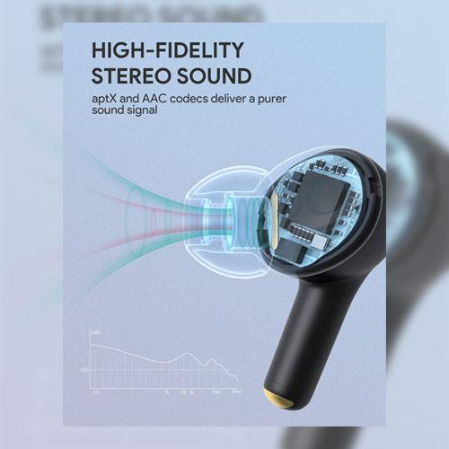 หูฟัง Aukey EP-T27 True Wireless กันน้ำกันเหงื่อ IPX7