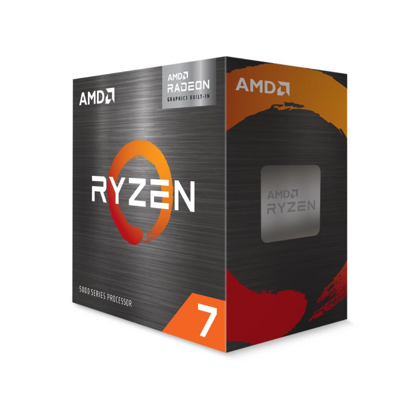 AMD ryzen 7 5700G with Wraith Stealth Cooler CPU