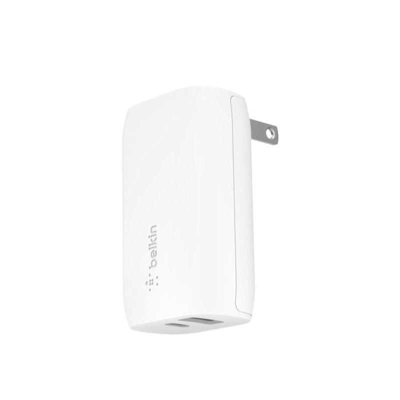 หัวชาร์จ Belkin USB-C 20W + USB-A 12W Wall Charger