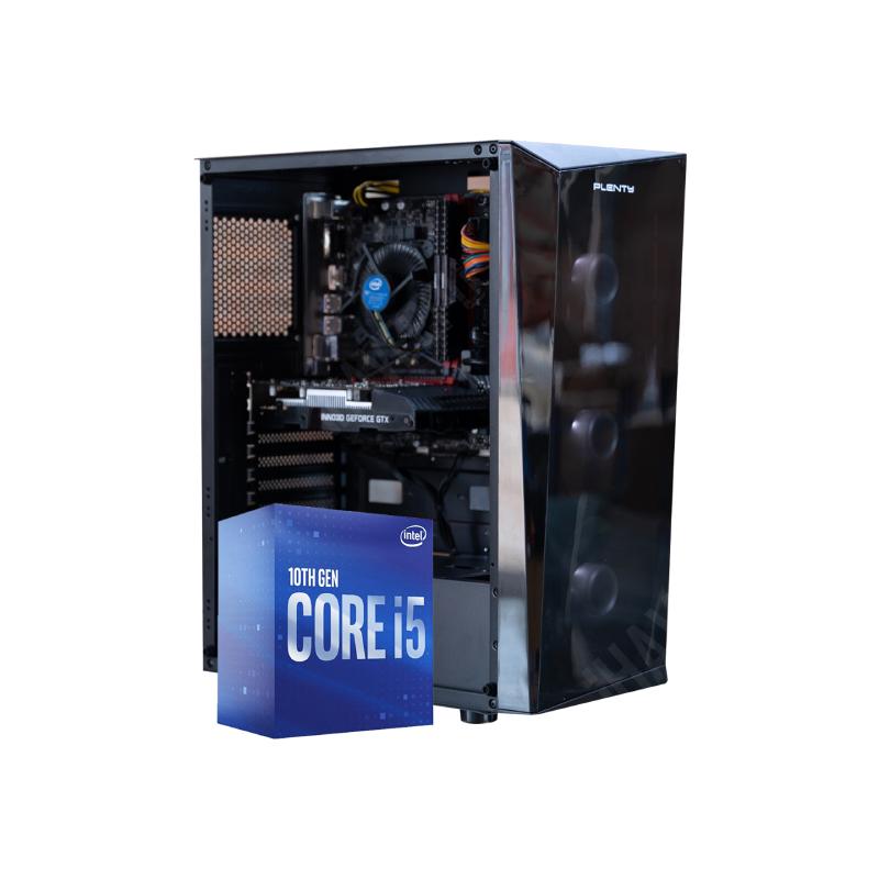 คอมเล่นเกม iHAVECPU Set 27 Intel i5-10400F Zotac GTX 1050 Ti Ram 16GB Computer by iHAVECPU